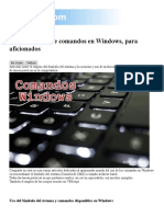 comandos principiantes archivos batch y script