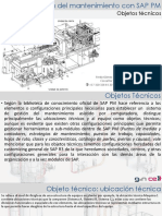 Objetos tecnicos de SAP PM