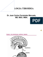 fisiologia tiroidea 2020 odontologia