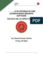 CALCULO DE LA CARGA TERMICA