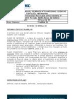 Plano de Negocios Ou Financeiro AFO IV Roteiro
