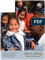 Peace Corps Brochure 'Research and Deliberation' Catalog