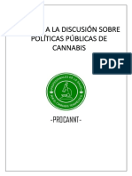 Aporte a La Discusión Sobre Políticas Públicas de Cannabis Procannt
