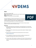 MEMO_ Early Vote Caucus Update