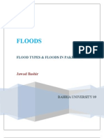 Flood Types & Floods in Paksitan