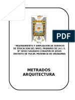 caratula METRADOS - ARQUITECTURA.doc