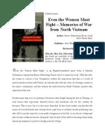 Book Review - Even the Women Must Fight (en)