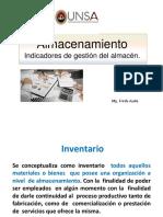Diapos Almacenamiento - Indicadores de almacenamiento.pdf