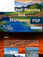 Watershed Planning and Management