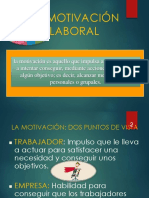 LA MOTIVACIÓN LABORAL 52