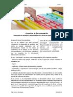 Nota 7 Organizar La Documentación