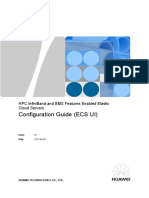 FusionSphere V100R006C10 HPC InfiniBand and BMS Features Enabled Elastic Cloud Servers Configuration Guide (ECS UI).doc