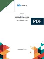 Reporte de Auditoria Pezzuttitrade.pe