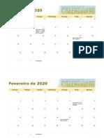 Calendário fotográfico sazonal1