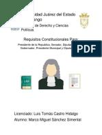 requisitos para servidores publicos