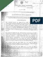 Resolucion 1069 Mantenimiento via Usme con San Juan de Sumapaz
