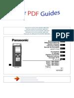 manual-do-usuário-PANASONIC-RRUS551-P
