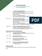 Curriculum vitae - Bruno Uchoa Borgongino