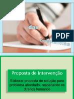 Redação na Prática - Proposta de Intervenção.pptx