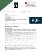 Duracion de los cursos YESELA RONCAL ZAMINE- GRUA DE BRAZO ARTICULADO-FRANNA-RIGGER-MANLIFT ABRIL 2013