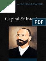 Capital & Interés - Eugen von BöhmBawerk.pdf