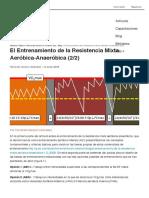 El Entrenamiento de la Resistencia Mixta Aeróbica-Anaeróbica (22) - Natación Óptima  Fernando Navarro _ G-SE(1)