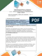 Guia de actividades y Rúbrica de evaluación - Fase 2. Contextualización