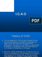 ICAO CONVENTIONS ETC