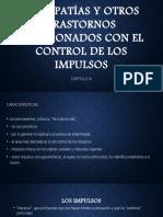 PSICOPATÍAS Y OTROS TRASTORNOS RELACIONADOS CON EL.pptx