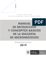 MICRONEGOCIOS 2019 Manual