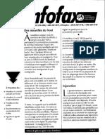Extrait de l'Infofax du 28 Octobre 1997