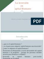 P5-Teoría del Capital Humano