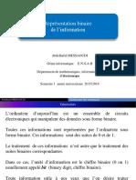 2.representation binaire de l_information