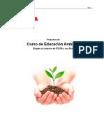 Propuesta de curso Educación Ambiental 31-10-2017