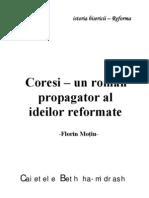 Coresi-Un Roman Propagator Al Ideilor Reformate