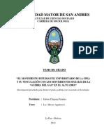 TES_EL MOVIMIENTO ESTUDIANTIL UNIVERSITARIO DE LA UPEA Y SU VINCULACIÓN CON LOS MOVIMIENTOS SOCIALES_Chuyma Paredes Edwin.pdf