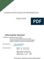 laboratorio de logica de programacion v1