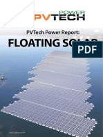 PVTech Power Report FLOATING SOLAR