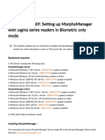 Tech Bulletin 169_ Setting up MorphoManager with Sigma series readers in Biometric only mode