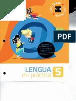 Practicas del lenguaje 5 sm cap 1 al 5