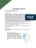 Propuesta Gimnasia Laboral