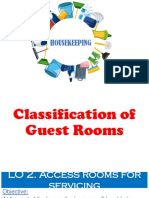 LO 2.5.3 Classification of Guest Rooms