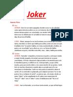 Tarea Personaje Joker Elsboy