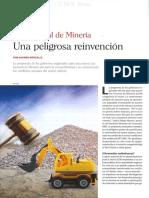 Ley General de Minería. Una peligrosa reinvención - Alvaro Roncal B.