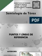 Semilogia de torax presentcion