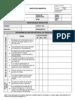 INSPECCION AMBIENTAL-PROGRAMA RESIDUOS V2