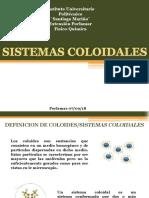 SISEMAS COLOIDALES