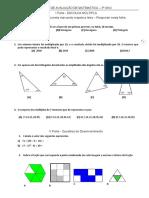 Ficha Avaliação - Frações