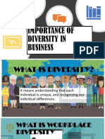 IMPORTANCE OF DIVERSITY IN BUSINESS