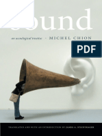 Michel Chion - Sound_ An Acoulogical Treatise (2016, Duke University Press)